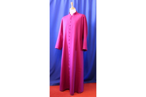 Bishop's Cassock: Single-Breasted