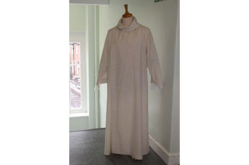 Cathedral Cassock Alb, one Back Pleat