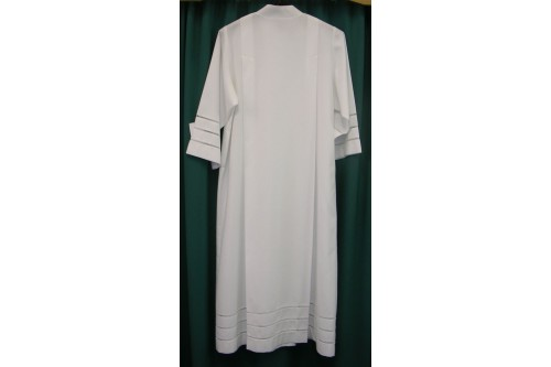 Cathedral Cassock-Alb, Shoulder Pleats