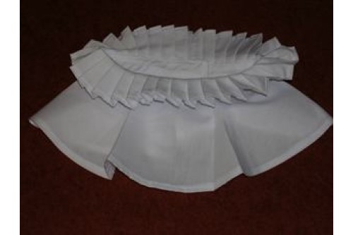 Choir Pleated Collar Ruff