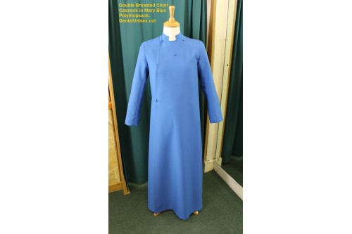 Choir Cassock : Adult Double-Breasted