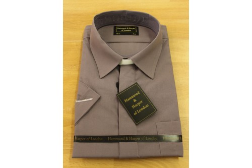 Ready-Made Shirt (Collar Attached) - Short Sleeves
