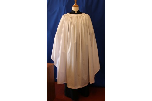 Old English Surplice Fully Gathered