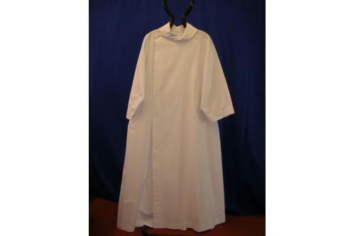 Cassock-Alb, Plain Double Breasted