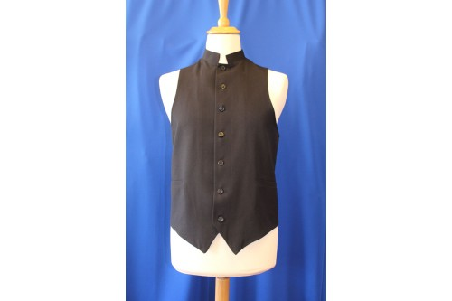Clerical Waistcoat, with Pockets