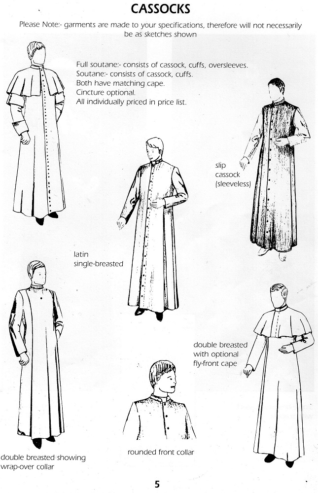 Clergy Blouses