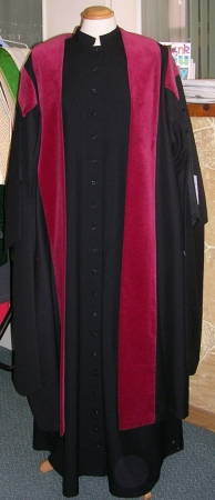 Vergers Gown (Partly Trimmed)