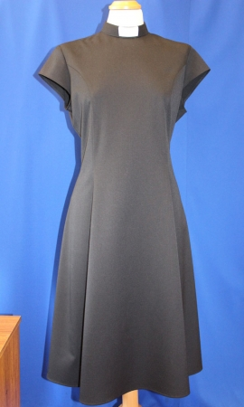 Ladies Flared Clerical Dress