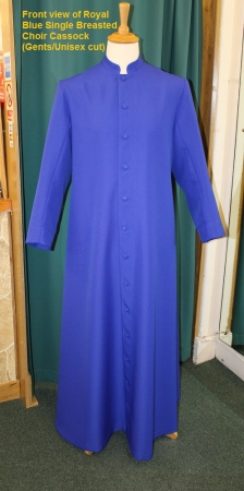 Choir Cassock : Adult Single-Breasted