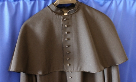 Cape - Buttoned to match Cassock