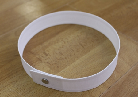 Collar Band Permanent Cotton